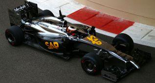 El McLaren-Honda que pilotará Alonso: tres vueltas y al box