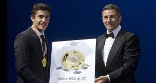 Marc Márquez exhibe su faceta más solidaria y agradecida