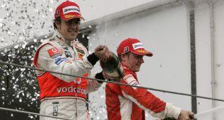 Fernando Alonso, cuatro victorias en 2007 con McLaren