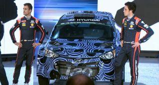 Hyundai desvela en Frankfurt el nuevo coche de Dani Sordo