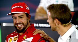 Sólo Hamilton fue mejor que Alonso para los jefes de equipo