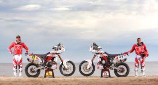 Gas Gas luce músculo para el Dakar con Farrés y Oliveras