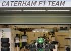 Caterham sigue soñando con competir en 2015 en la F-1