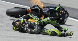 Las motos rozaron el millar de caídas esta temporada: 981