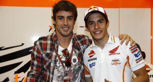 Complicidad entre Márquez y Alonso vía Twitter por el Acura