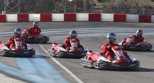 Carlos ganó y su compañero consiguió la vuelta rápida