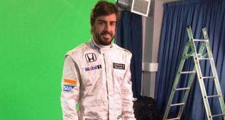 Alonso, vestido de McLaren y con pocos patrocinadores