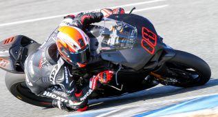 Giugliano fue el más rápido en Jerez con Nico Terol octavo