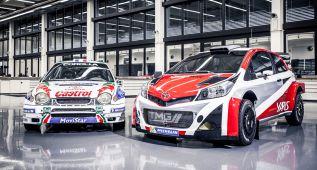 Toyota vuelve al Campeonato del Mundo de Rallys en 2017