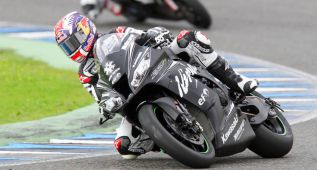 Guintoli defiende campeonato y Kawasaki Racing es el ogro
