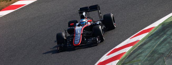 Alonso rodó con regularidad al volante del McLaren Honda