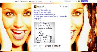 El tuit premonitorio de Lara Álvarez, la novia de Alonso