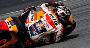 Márquez mete la directa en la tercera jornada de Sepang
