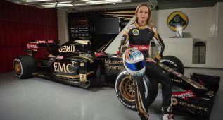 Lotus elige a Carmen Jordá como piloto de desarrollo