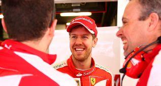 """Sebastian Vettel: """"Ferrari sí estará con Williams y Red Bull"""""""