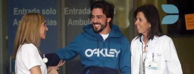 Alonso tiene el alta médica