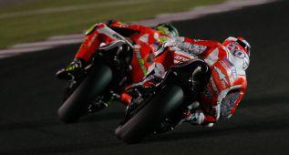 Iannone y Dovizioso le dan una gran alegría a Ducati en Qatar