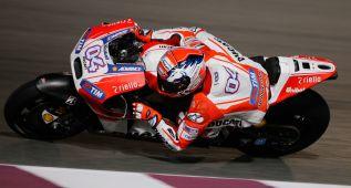 Dovizioso pone a Ducati otra vez al frente en el test de Qatar