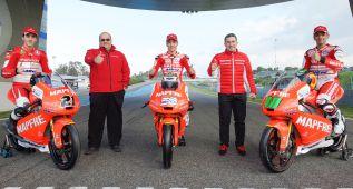 Presentado en Jerez el equipo Mahindra de Aspar para 2015