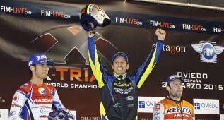 Bou celebra su noveno título mundial con un podio