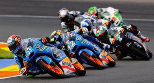 Los adelantamientos, premiados por Dunlop en Moto3 y Moto2
