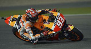 Márquez empieza a poner tierra de por medio en Qatar