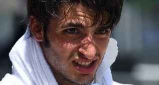 """Carlos Sainz: """"He cometido un error en la curva 14"""""""