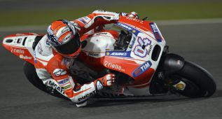 Dovizioso estrena la Ducati con la primera pole del año