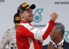 Triunfo de Vettel, Sainz acaba octavo y abandono de Alonso