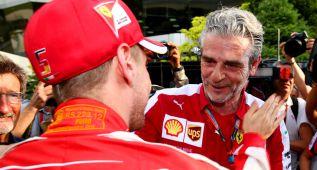 """Maurizio Arrivabene: """"Éste es un éxito de todo el equipo"""""""
