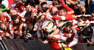 Sebastian Vettel, detonante de la resurrección del equipo Ferrari