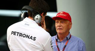 """Niki Lauda: """"Bernie Ecclestone no se podrá quejar ahora"""""""