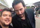 """Keanu Reeves es """"de Rossi"""" y ve a Márquez """"como una estrella"""""""