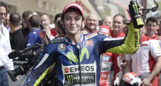 "Rossi: ""Hubiera sido perfecto acabar delante de Dovizioso"""
