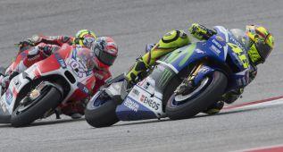 """Valentino Rossi: """"Tengo un pique sano con Andrea Dovizioso"""""""