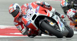 Andrea Dovizioso niega que se quedaran sin combustible