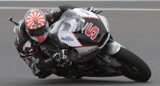 Johann Zarco y Sam Lowes siguen protagonizando Moto2