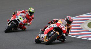 Márquez pasa a la cabeza y Pol, sin acceso directo a la Q2