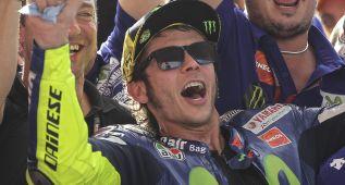 """Rossi: """"Es Márquez el que me ha tocado y siento su caída"""""""