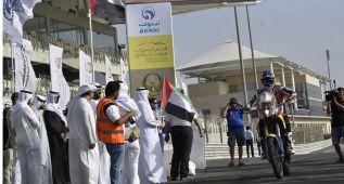 Coma y Barreda dominan la primera etapa en Qatar