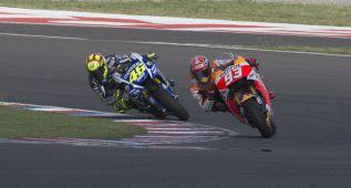 Expertos del Mundial valoran el incidente de Márquez y Rossi