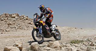 Barreda gana la cuarta etapa y Coma sigue de líder en motos