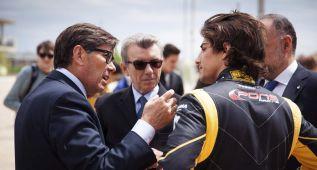 Merhi, undécimo en los ensayos libres de la 3.5 en MotorLand