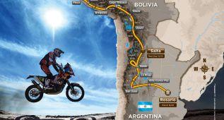Belén acapara el protagonismo en el mapa del Dakar 2016