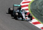 Rosberg se pega una paliza y rueda a ritmo de pole en el test