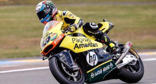 Álex Rins suma su primera pole de la categoría en Le Mans