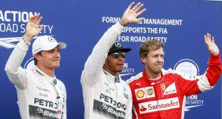 Pole para Hamilton, Sainz sale desde el pit lane y Alonso, 15º