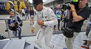 """Hamilton: """"Ferrari está más cerca que en otros circuitos"""""""