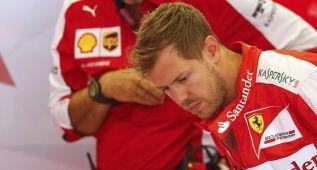 """Vettel: """"Tuvimos un problema en la caja de cambios"""""""