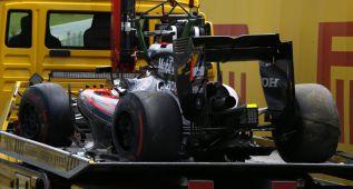 McLaren reduce sus planes de test tras el accidente de Alonso